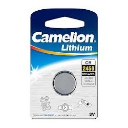 Pile bouton lithium CR2450 - 3V