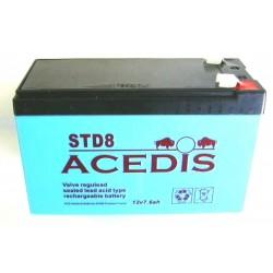 Batterie Gel Plomb 12V 7AH