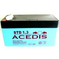 Batterie Gel Plomb 12V 1.3AH