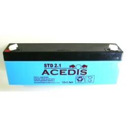 Batterie Gel Plomb 12V 2.3AH