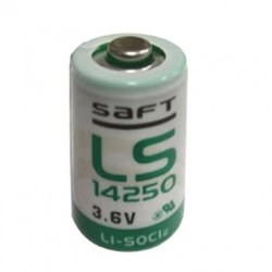 Pile Lithium 3.6V - TYPE LS14250-- 1/2AA TYPE