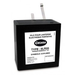 Pile alcaline industrie 6LR20 9V Fanal 15Ah