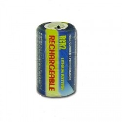Accu photo rechargeable type CR2